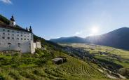 Marienberg Abbey & organic winery